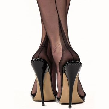 Gio Point Heel FF Stockings - Seconds